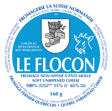 Étiquette - Flocon
